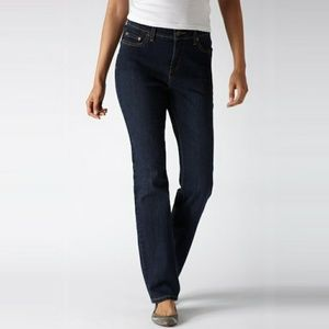 Levi's 512 Perfectly Slimming Straight Leg Jeans